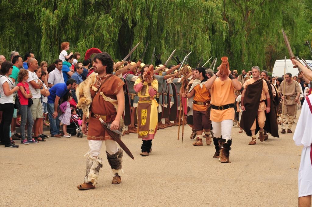2015 Desfile de tropas numantinas y romanas
