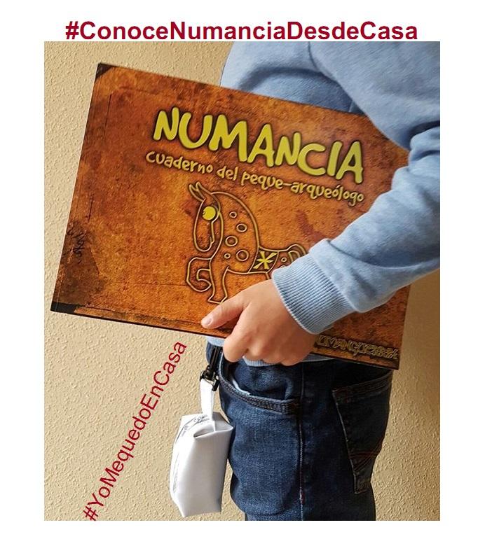 #ConoceNumanciaDesdeCasa. CUADERNILLO ACTIVIDADES 08