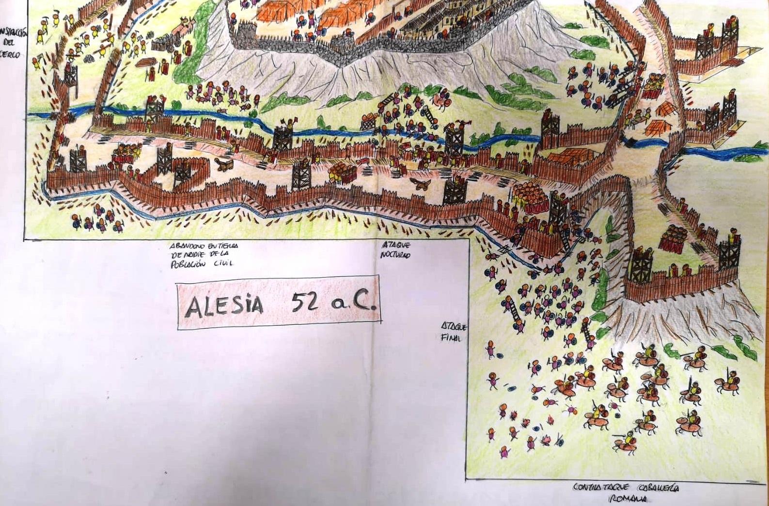NUEVO DIORAMA: ALESIA