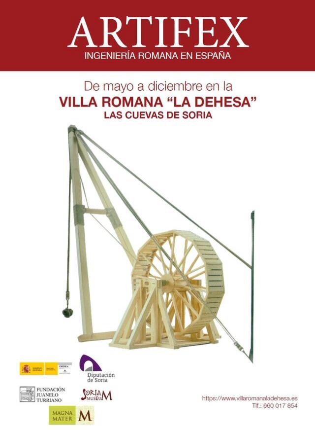 ARTIFEX: INGENIERIA ROMANA EN ESPAÑA