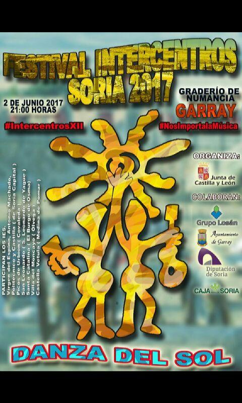FESTIVAL INTERCENTROS SORIA 2017. DANZA DEL SOL
