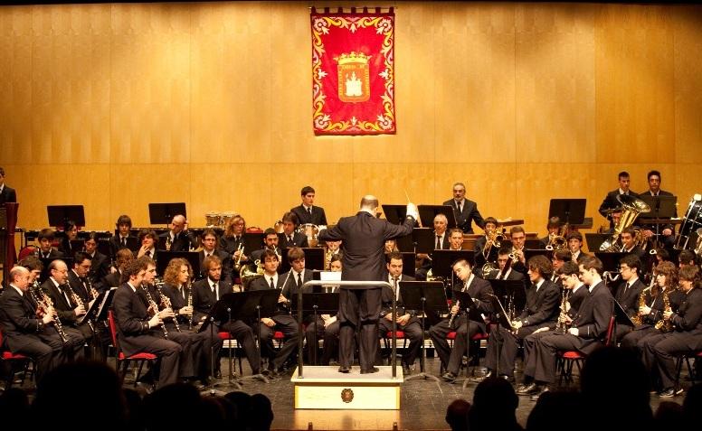 """CONCIERTO BANDA MUNICIPAL DE MUSICA: """"NVMANCIA"""""""