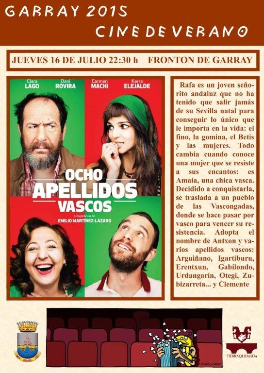 CINE DE FRONTON: OCHO APELLIDOS VASCOS