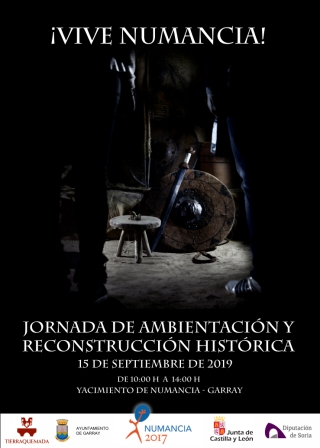 Vuelven las reconstrucciones históricas al yacimiento de Numancia.