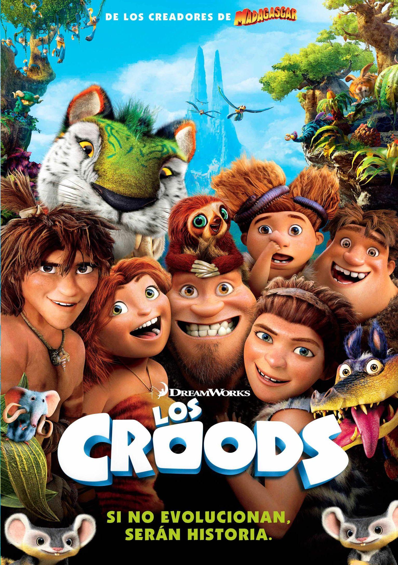 CINE DE VERANO: LOS CROODS