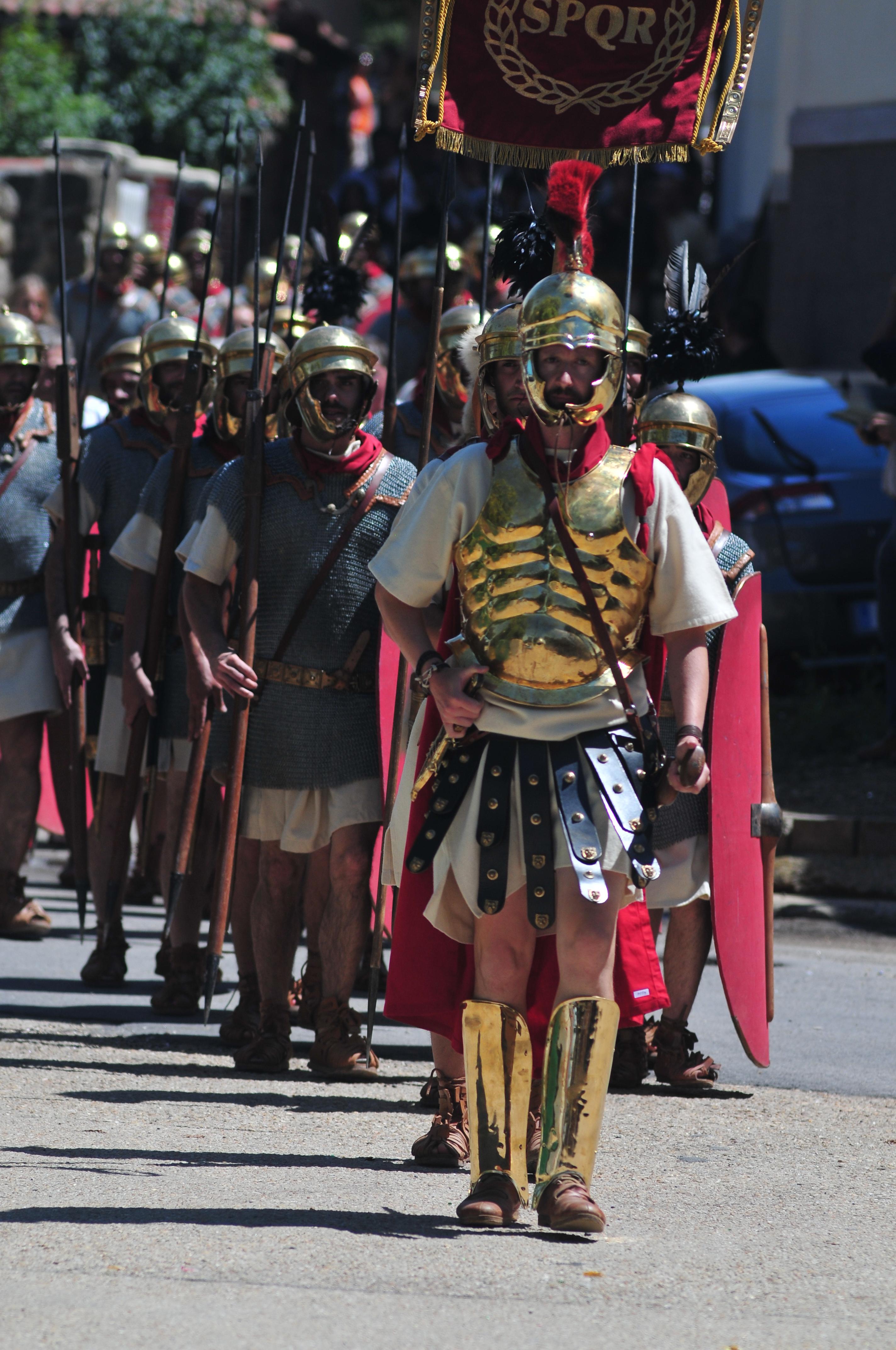 2015 Desfile Tropas Numantinas y Romanas