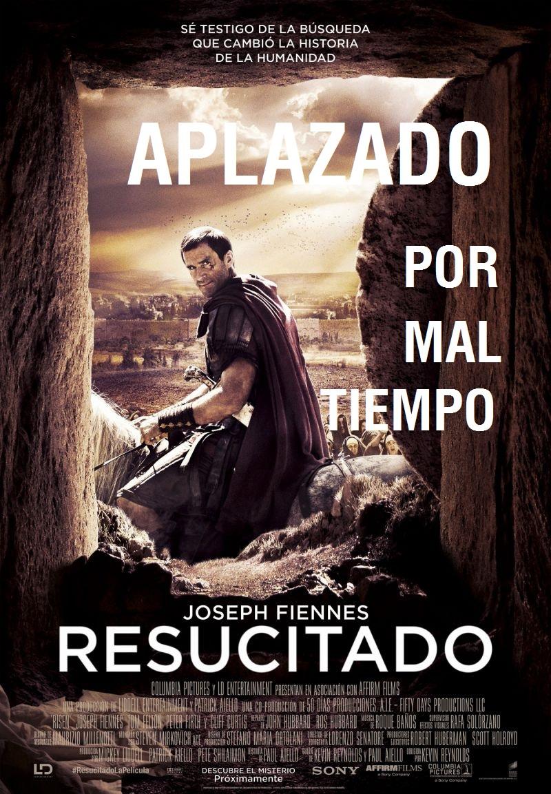 CINE DE VERANO: RESUCITADO. APLAZADO