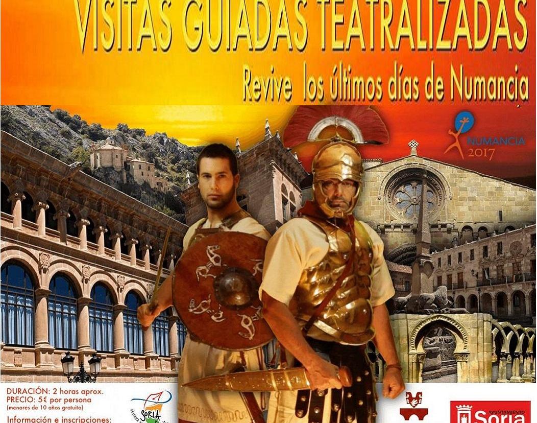 VISITAS A SORIA TEATRALIZADAS
