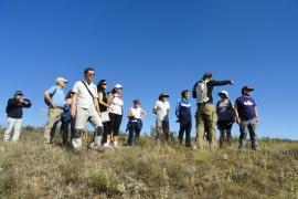 Jornada de senderismo activo cerco de Escipión