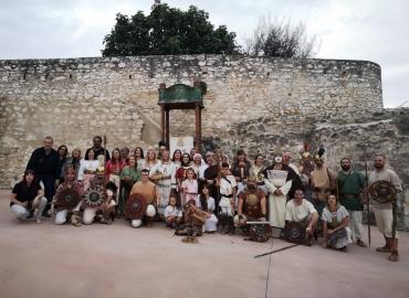 GRAN PARTICIPACION EN CASTRA LEGIONIS. GILENA (SEVILLA)