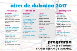 Programa Festival Aires de Dulzaina 2017