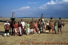 Pueblo y guerreros celtibéricos de la sección
